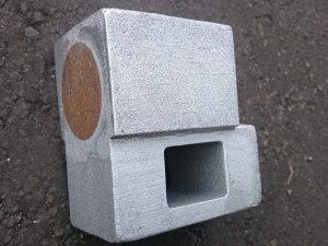 溶接機部品 AC7A砲金鋳込み 約7kg