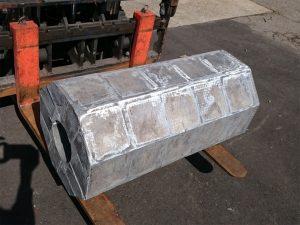工作機械部品 AC4A 150kg